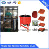 Tuiles en caoutchouc vulcanisant la machine/presse de tuiles (XLB-D550X550X4)