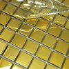 Mosaico de oro del metal del acero inoxidable del color