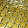 Mosaico dorato del metallo dell'acciaio inossidabile di colore