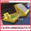 Più nuovo Yellow Salta-in su Soccer Field Inflatable Sport Game da vendere (J-SG-012)