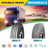 고품질 경쟁가격 295/75r22.5를 가진 광선 중국 트럭 타이어