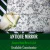 أثر قديم مرآة [غلسّ ولّ] زجاج زخرفيّة