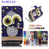 Owl Leather Flip Cover Mobile Phone Case for Bq Aquaris E4.0 (BQ Aquaris E4.0 Case)