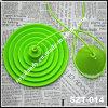 De groene Plastic Uitrusting van de Verlichting voor Edison Bulb (szt-014)