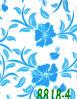 Flor azul HPL (8818-4)