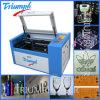 MDF acrílico da madeira da máquina de estaca da gravura do laser do Ce FDA mini