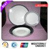 18PCS Porcelain Dinnerware pour la consommation quotidienne