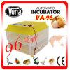 Volaille approuvée Hatchingincubator d'incubateur d'oeufs de la CE complètement automatique