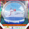 PVC Inflatable Snow Globe di alta qualità 1.0mm Thickness Clear per Christmas Decoration Tent