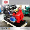 80kw 5inch Diesel CentrifugaalPomp Met motor 55.5L/S 8bars