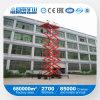 Hidráulicos móviles Scissor de interior del vector de elevación o al aire libre usado