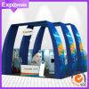 Constructor de la cabina de la exposición