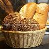 Подгонянный поднос хлеба вербы высокого качества модный с естественным цветом