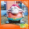 Matériel en plastique mignon de décoration de poupée de parc d'attractions de monstre de dessin animé à vendre