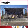 Braguero de aluminio de la azotea de la etapa del concierto con las alas