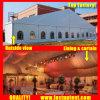 結婚披露宴のイベントのテント6m