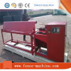 Máquina semiautomática da cerca da ligação Chain do engranzamento do diamante