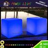 Tabourets cubiques lumineux de cube en meubles DEL de présidence