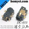 corriente continua Del socket de la C.C. de la echada SMT de 1.0m m Gato (DC-053)