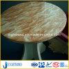 جميلة تصميم حجارة رخام ألومنيوم قرص عسل لوح لأنّ مطبخ [رووند تبل]