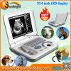 Monitor-beweglicher Laptop-Veterinärultraschall 12 Zoll-LED