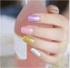 Etiqueta elegante do prego da etiqueta da arte do prego de transferência da água do Glitter do brilho