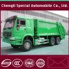HOWO Chassis 13 de Kubieke Vrachtwagen van de Pers van het Afval van het Huisvuil van Meters