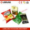 ポテトチップの軽食のための自動縦の微粒の価格の袋のパッキング機械