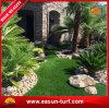 Jardim artificial sintético da grama do relvado da paisagem