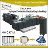 Découpage A4 de papier et machine à emballer complètement automatique