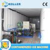 2 Tonnen/Tag Integriert-Konzipieren Containerized Eis-Block-Maschine mit Kühlraum