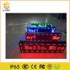 Visualizzazione di LED esterna P10 di colore rosso di Wholesels con 100cmx20cm WiFi + controllo di disco di U per uso di pubblicità esterna con alta luminosità impermeabile