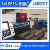 CNC van de brug de Scherpe Machine van Oxygas van het Plasma van de Plaat van het Metaal
