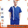 Les robes 100% d'hôpital de coton pour les uniformes médicaux d'usine frotte