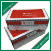 Rectángulos de papel de empaquetado acanalados flauta b envío