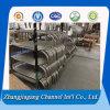 China-Hersteller passen Schlaufen-Aluminium-Rohr an