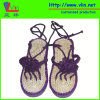 Deslizador de senhoras da forma/sandálias com Insole da palha
