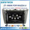 Мультимедиа автомобиля DVD пыла с вариантом вздрагивание на Mazda 2008-2012 6 (ZT-M806)