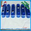 Il coperchio di alluminio della pressofusione con l'azzurro verniciato