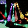 Lumières micro d'énergie de chaîne de caractères de Noël solaire de DEL pour l'usager de festival décoratif