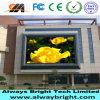 Alto brillo que hace publicidad de la visualización de pared video al aire libre de P10 LED