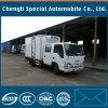 Camião dobro do refrigerador de Isuzu da cabine da qualidade 4X2 da NC