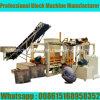 Voll automatischer Block Qt4-25, der Maschine mit Hydraulikanlage herstellt