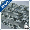 DIN En 818-2のG80 2個のホックの産業持ち上がるアンカー鎖が付いている持ち上がる合金鋼鉄鎖