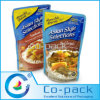 Microwavable Retort High Barrier Pouch pour Cooking Foods