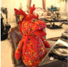 Feriado Gifts Dragon Stuffed Doll Made de Printed Cloth