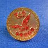 Pin gravé de revers de récompense d'insigne de Madel de promotion (GZHY-LP-030)