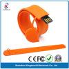 Movimentação do flash do USB do bracelete do silicone do presente da promoção (KW-0246)
