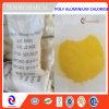 Chloride van Polyaluminum van de Behandeling van afvalwater van het Poeder van de teneur het Stevige Gele