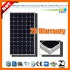 255W 156mono Silicon Solar Module com IEC 61215, IEC 61730